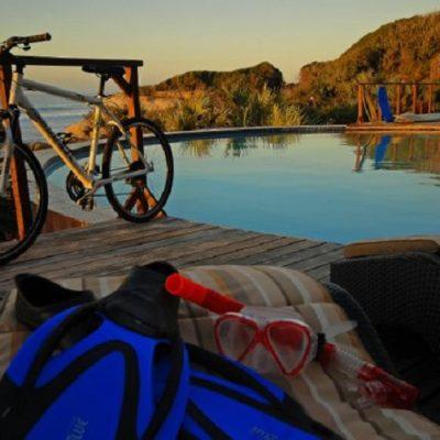 Africa - Mozambique - Massinga Beach Resort cycling