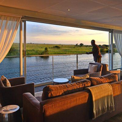 Africa - Zambezi Queen River Boat Cruise