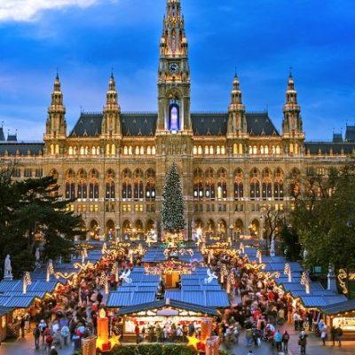 Christmas Market along the Danube